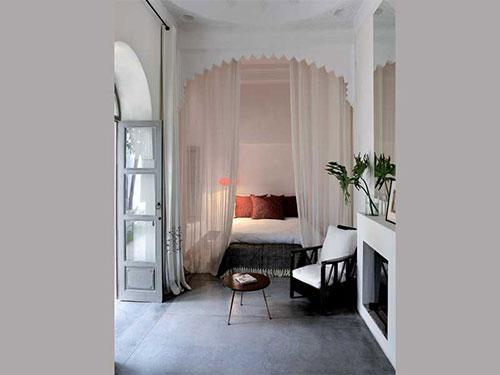 Marokkaanse Lampen Huis : Marokkaanse slaapkamers van riad mena