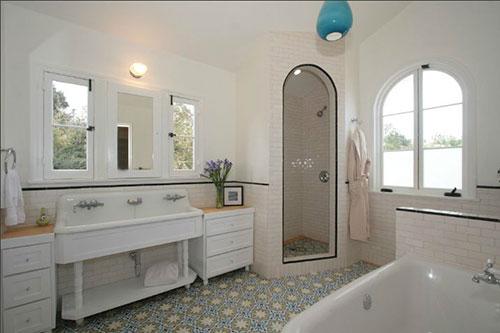 Marokkaanse Tegels Badkamer : Marokkaanse tegels in badkamer
