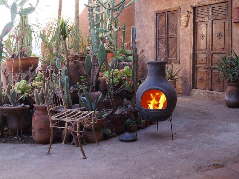 Mexicaanse tuinhaard