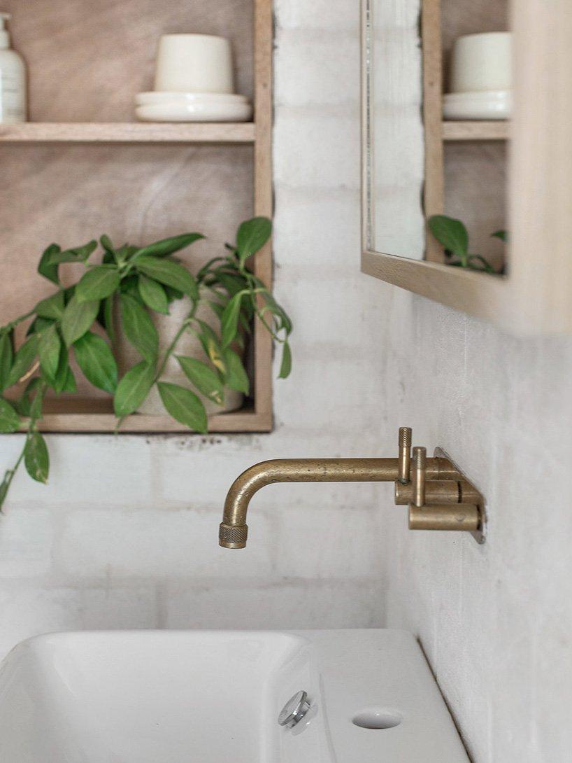Minimalistische duurzame woning van beton
