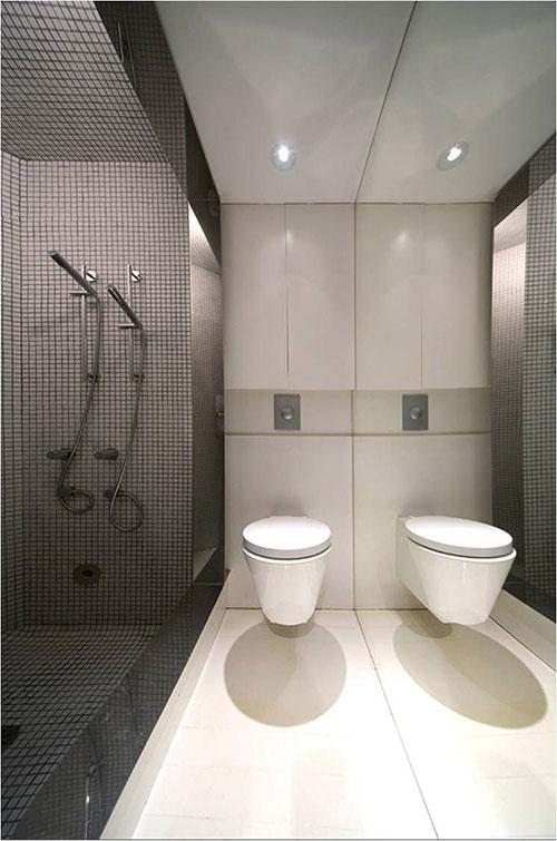 Minimalistische luxe badkamer
