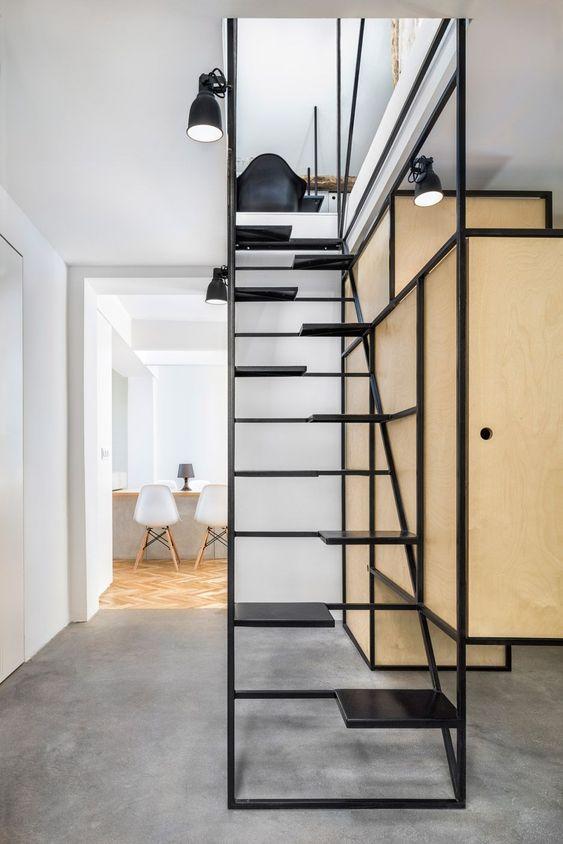 minimalistische trapleuning