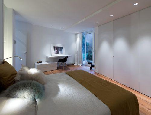 Modern slaapkamer ontwerp