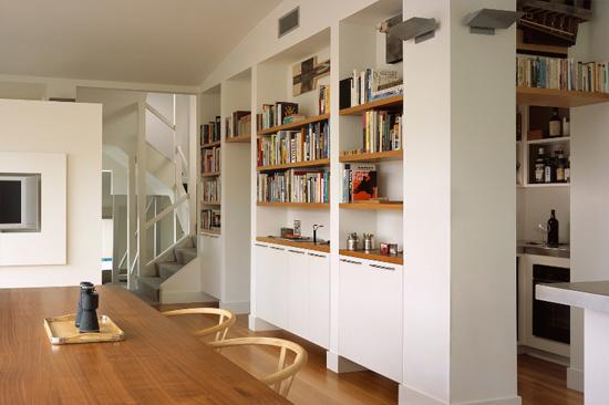Modern strak interieur