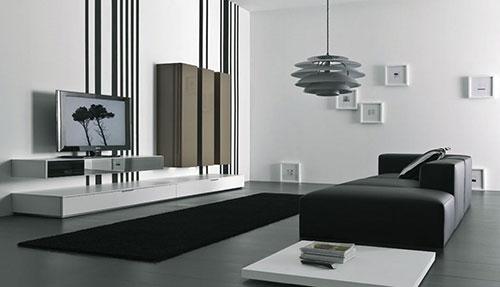 Modern woonkamer idee