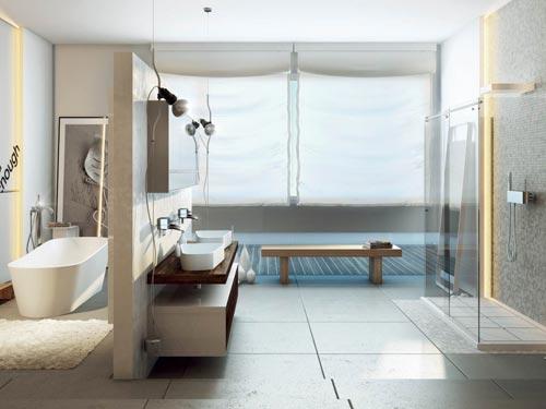 Moderne badkamer van MOMA design