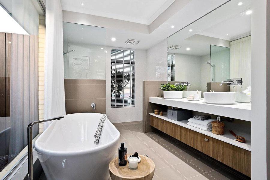 moderne badkamers voorbeelden ruim