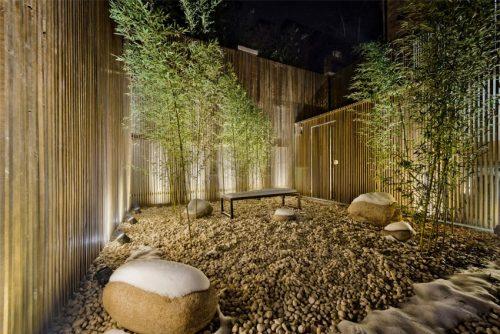Moderne chinese tuin huis inrichten