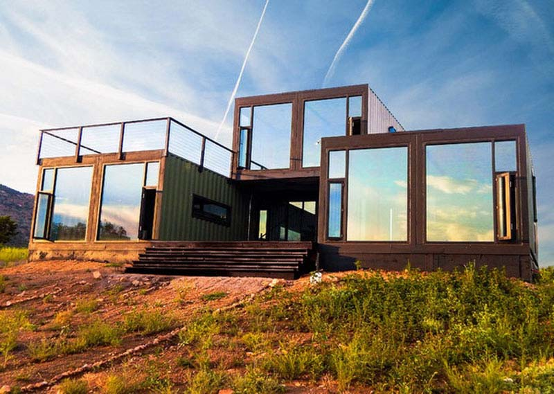 moderne containerwoning colorado
