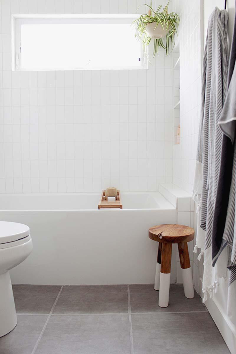 moderne ikea badkamer