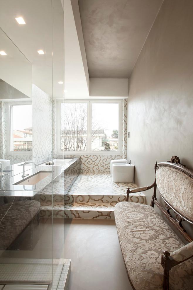 Moderne klassieke badkamer uit Milaan