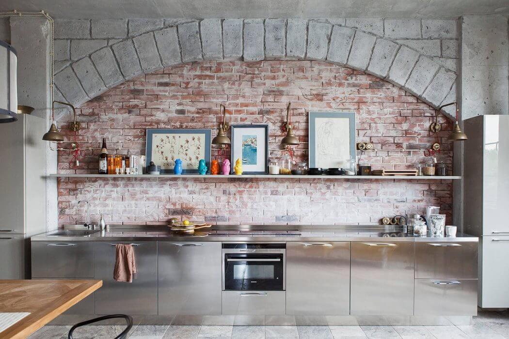 moderne rvs keuken