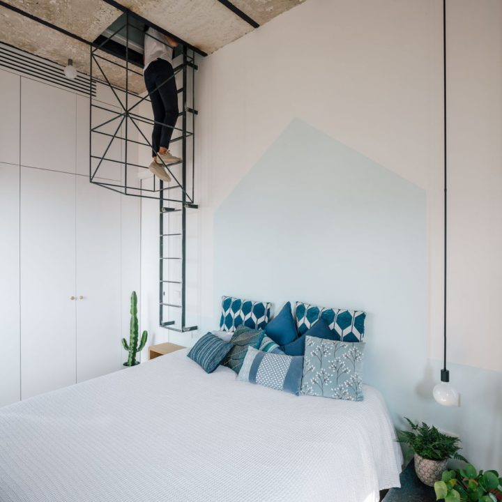 moderne slaapkamer inbouwkast