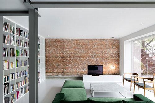 Authentieke Details Woonkamer : Moderne woning met authentieke rauwe details