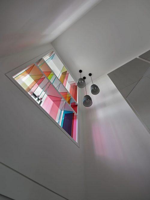 Moderne woning vol kleurrijke details