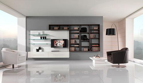 Moderne woonkamer inrichten