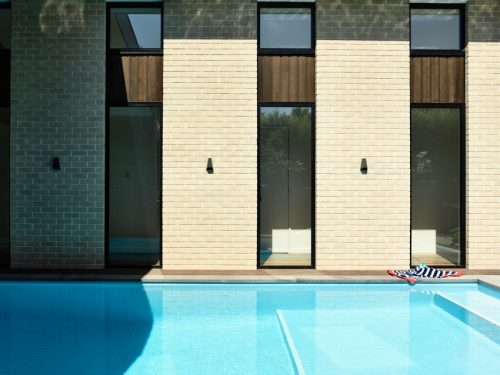 Moderne zwembad tuin uit Australië