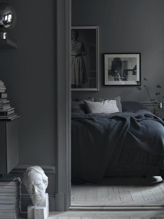 moody grijs interieur