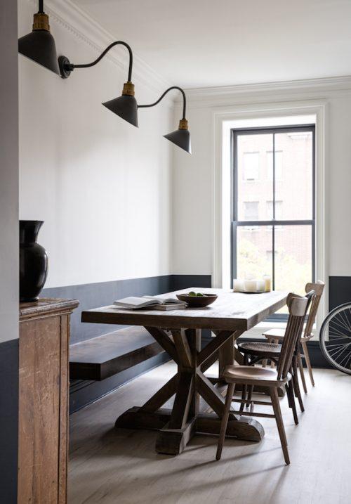 Mooi interieur ontwerp voor een 100 jaar oud huis