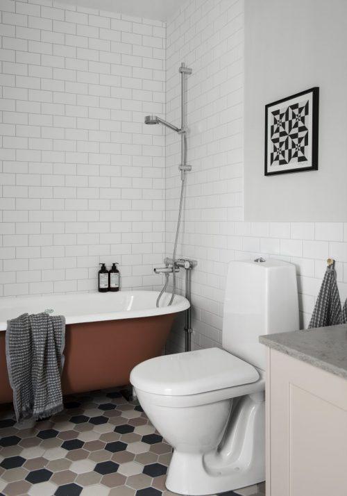 Mooie badkamer met een luxueuze unieke stijl