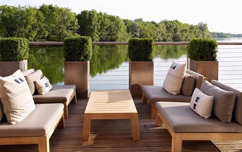 Mooie loungeset tuin