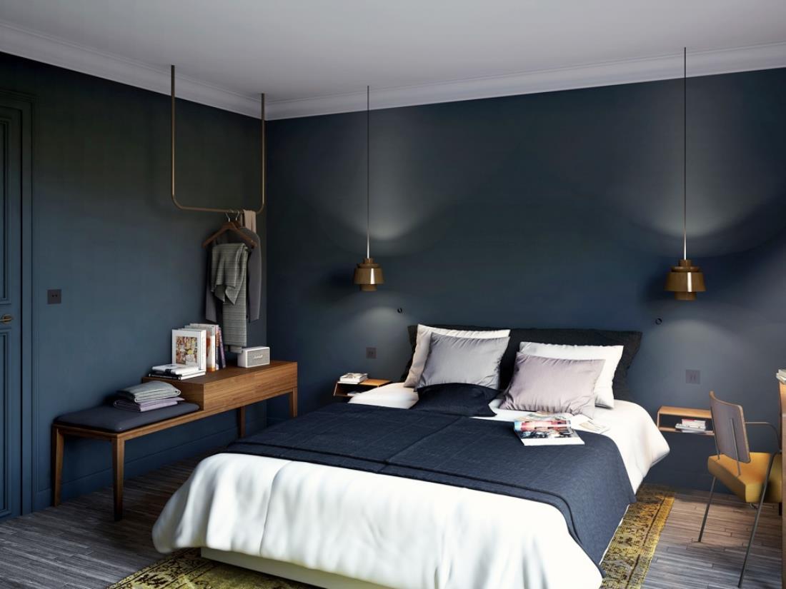 mooie-slaapkamer-coq-hotel-parijs