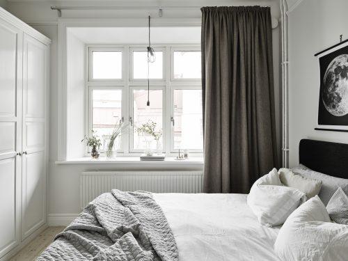 Mooie slaapkamer uit Zweden