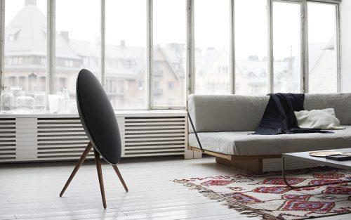 Mooie speakers in het interieur