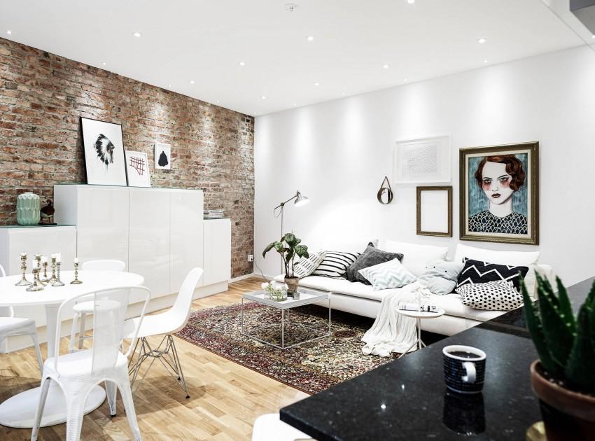 Scandinavisch Appartement Inspiratie : Mooie styling in scandinavisch appartement