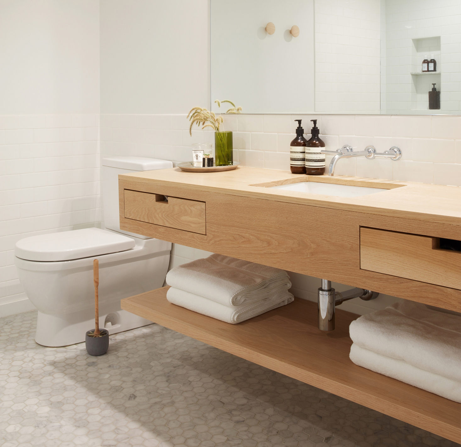 mooie toiletborstel desinfecteren