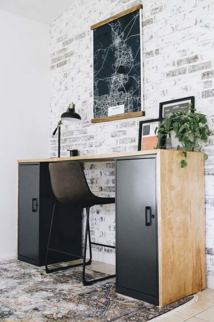 DIY multiplex bureau maken