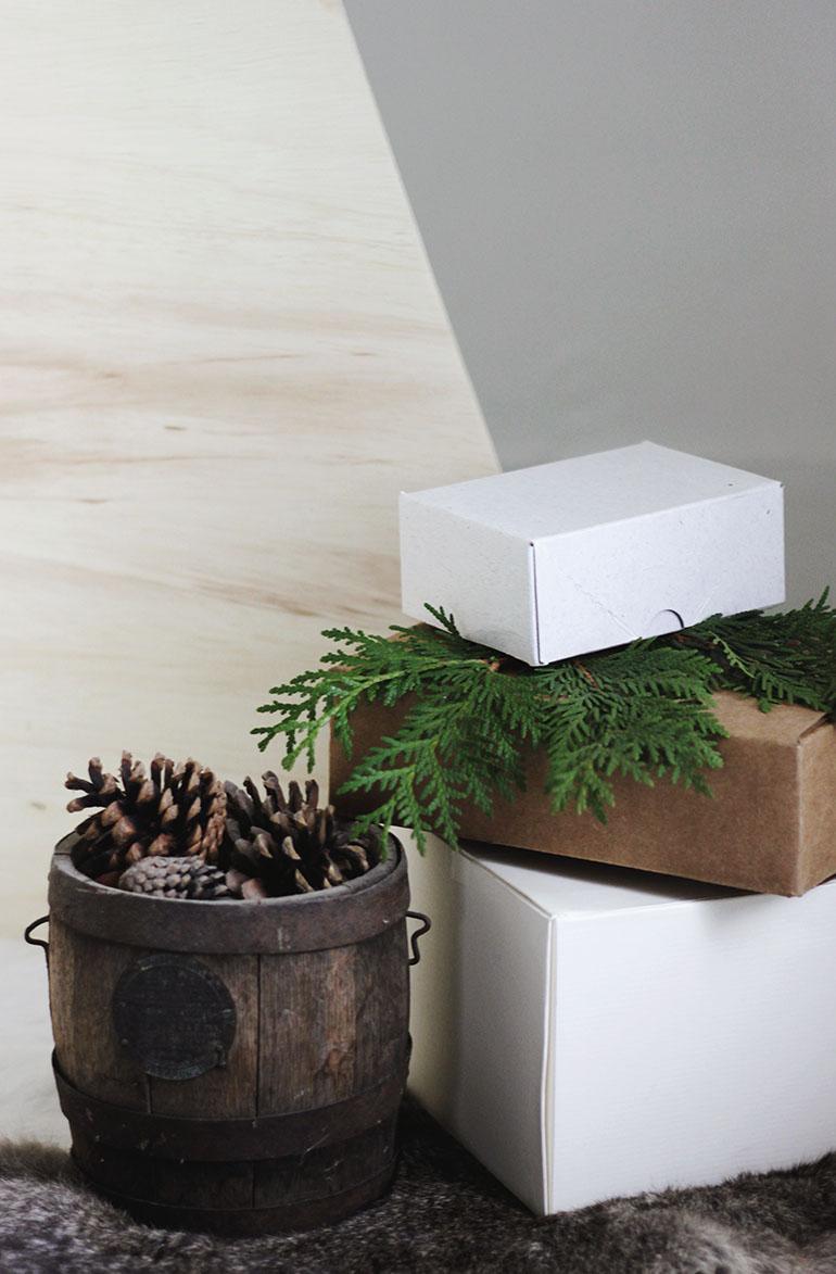 multiplex houten kerstboom maken versieren