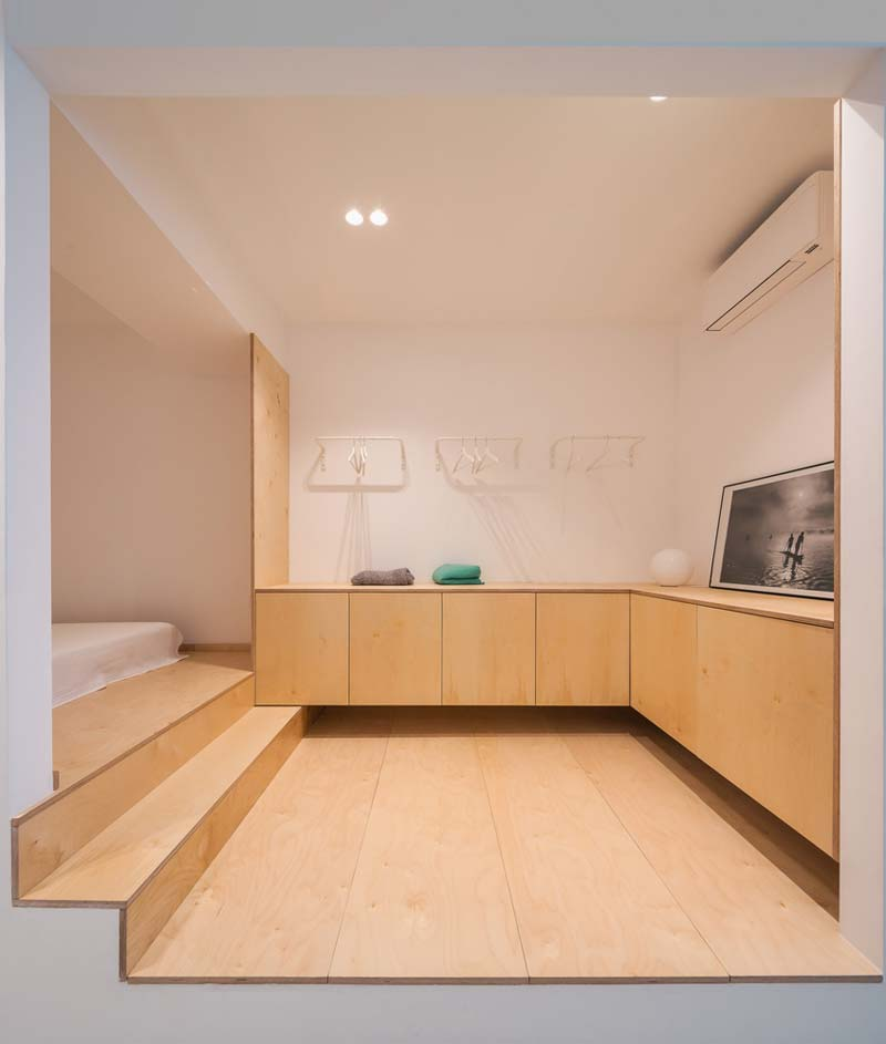 multiplex vloer kasten slaapkamer