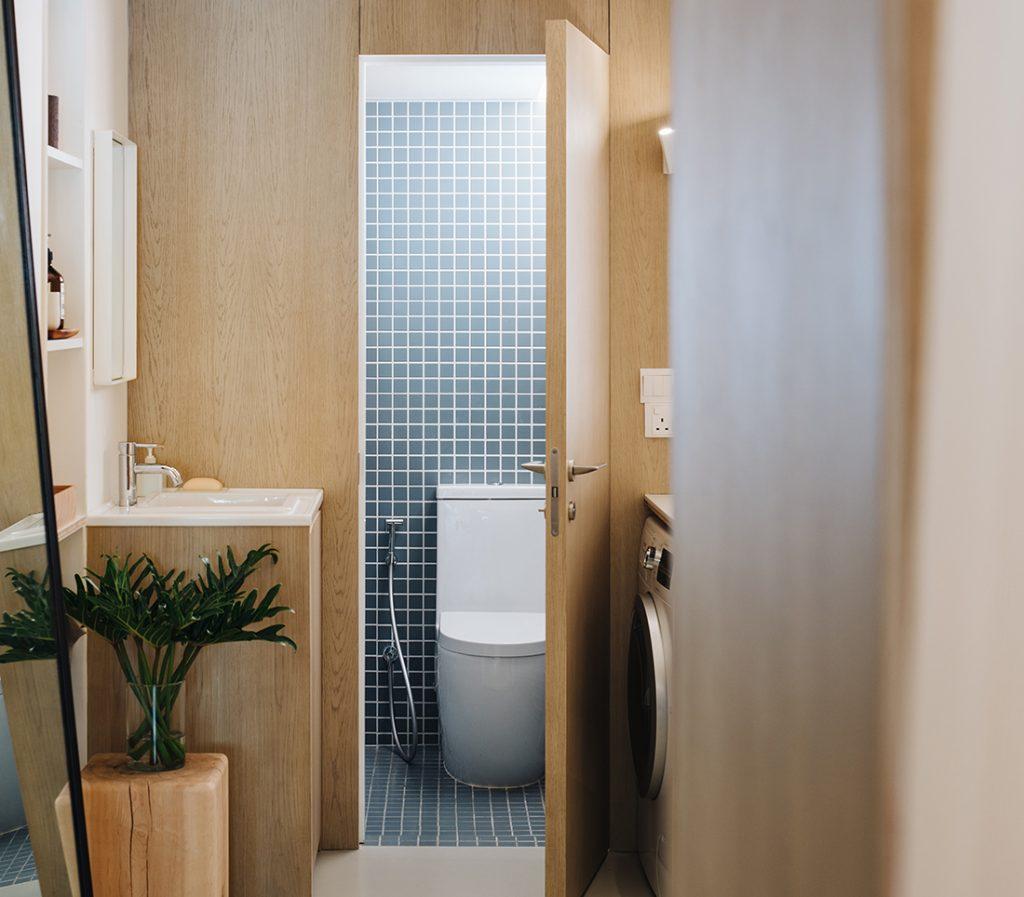 multiplex wandbekleding toilet