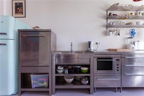 Keuken Industriele Smeg : Muur verwijderen tussen keuken en woonkamer huis inrichten