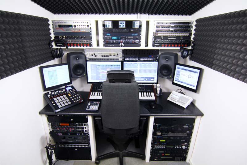 muziekstudio thuis bouwen isolatie
