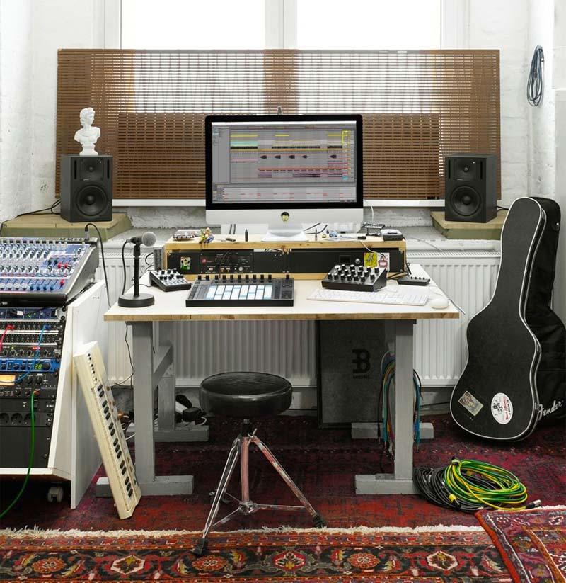 muziekstudio thuis imac
