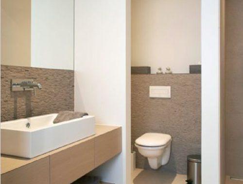 Natuurstenen vloer badkamer