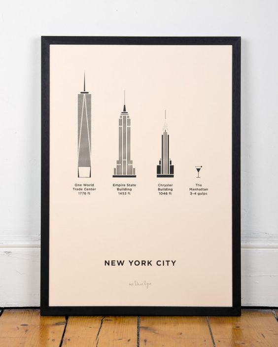 new-york-gebouwen-poster