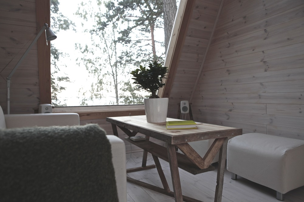 Nido - minimalistisch houten huisje in de Finse natuur
