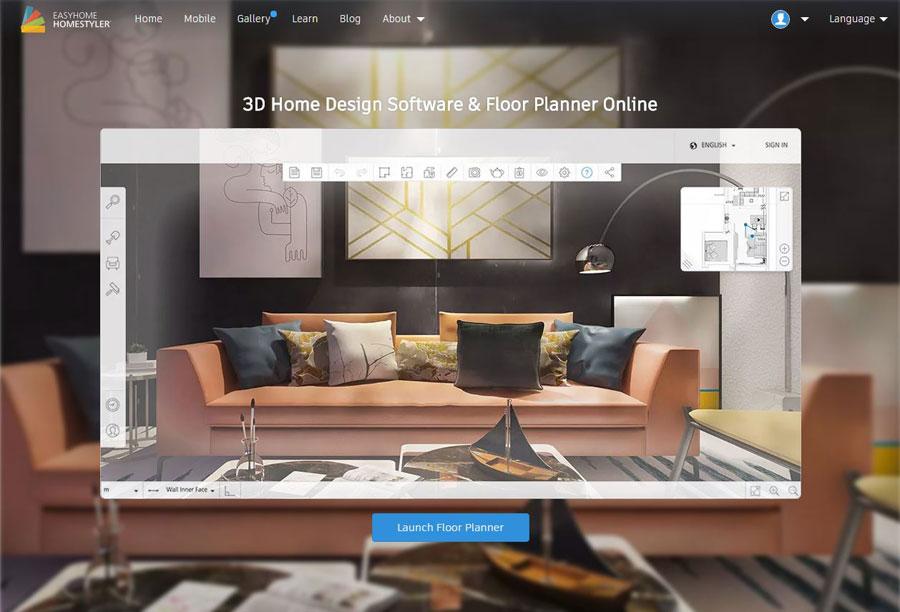 Online huis inrichten tool homestyler