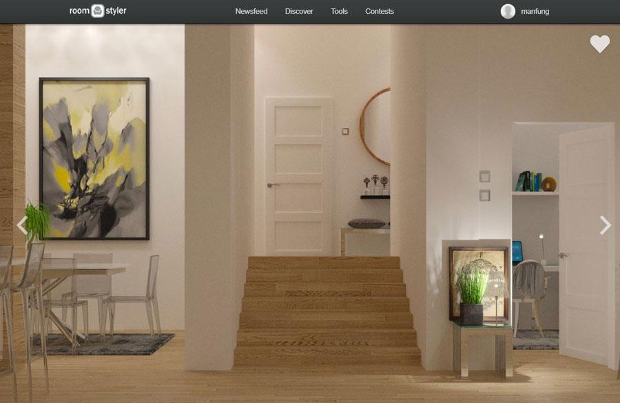 Online huis inrichten tool roomstyler