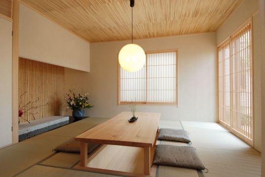 oosters interieur japanse tatami matten