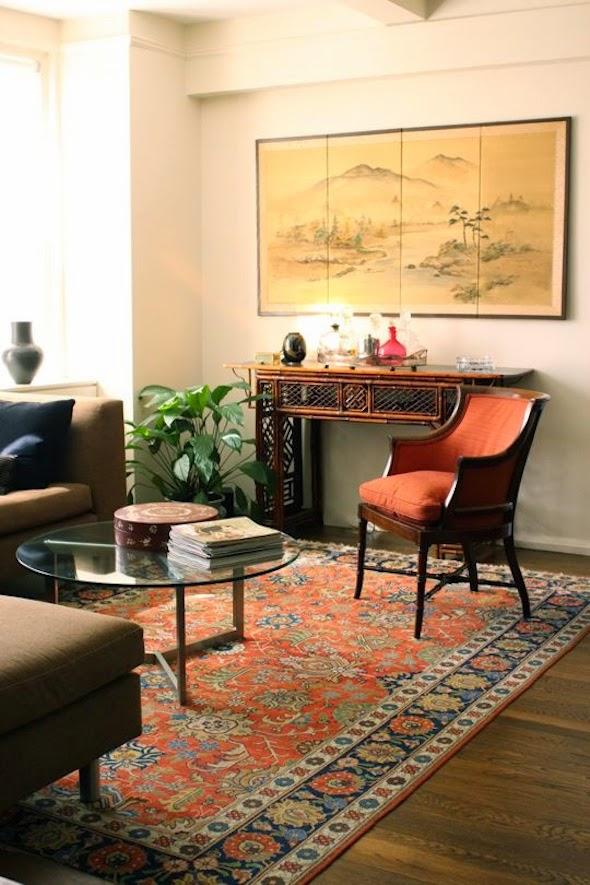 oosters interieur perzisch vloerkleed