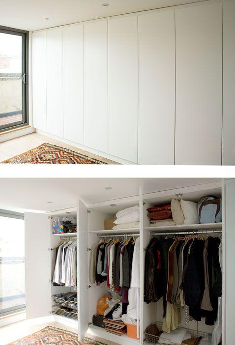 op maat gemaakte kledingkast slaapkamer