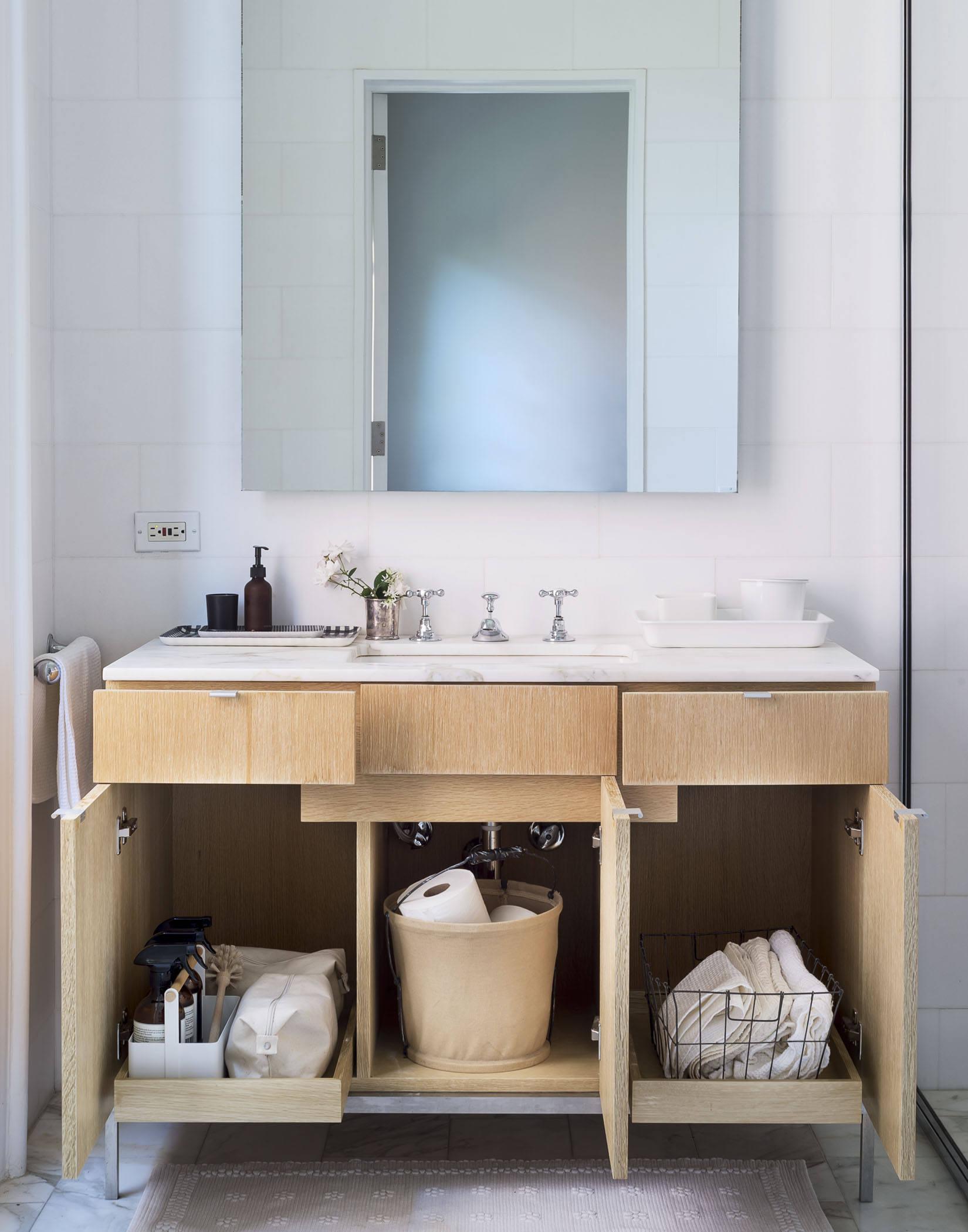 opbergruimte badkamer badkamermeubel inrichten