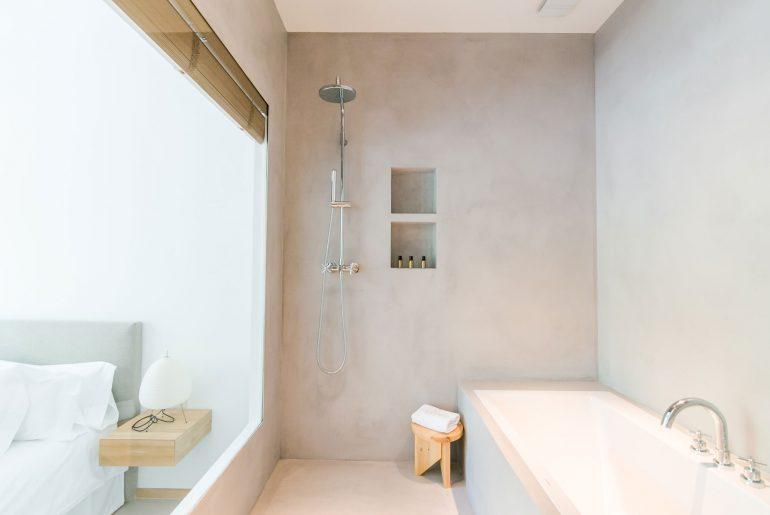 open badkamer slaapkamer
