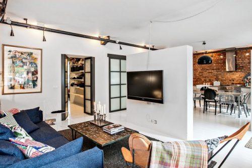 open industriele keuken
