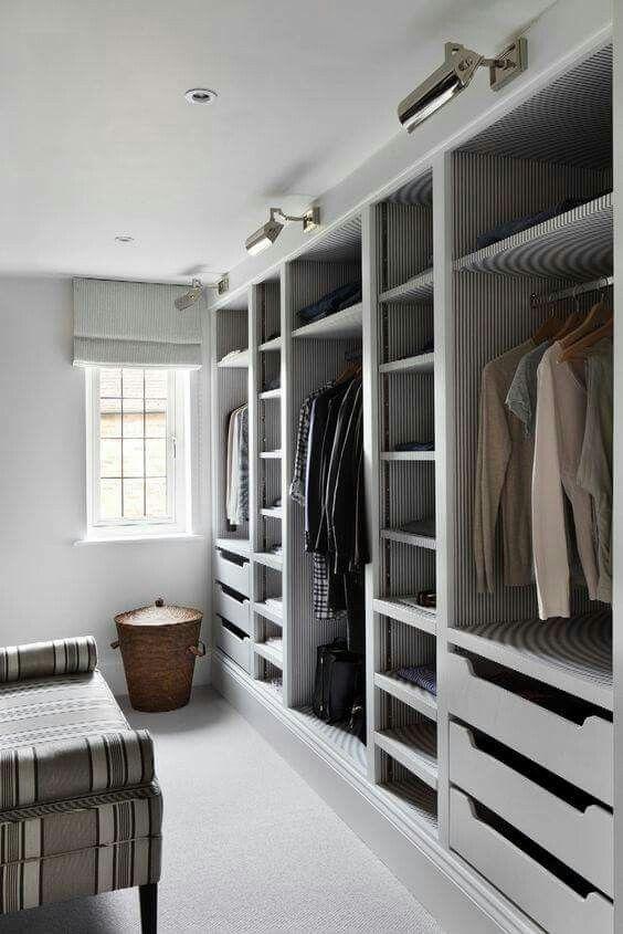 open inloopkast slaapkamer
