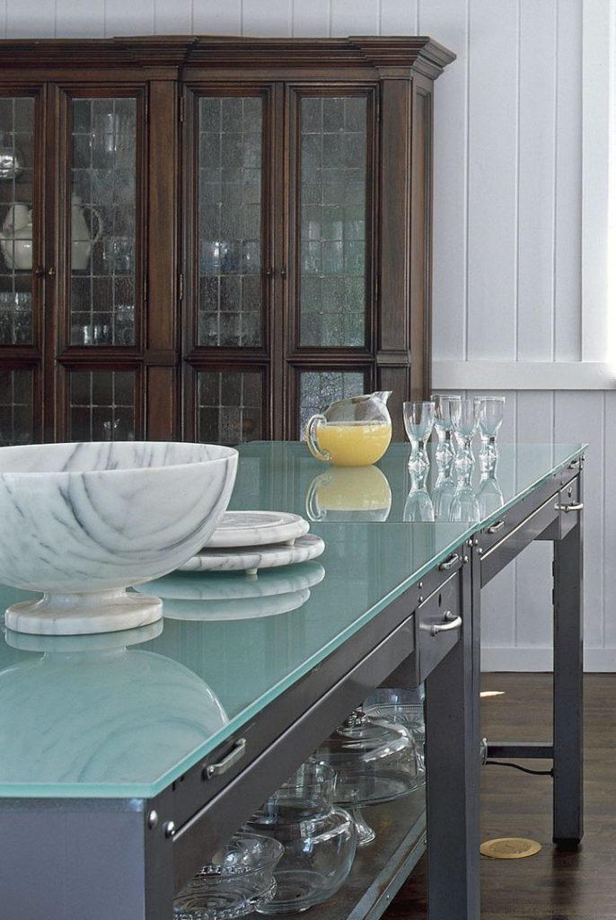 Open keuken aan woonkamer
